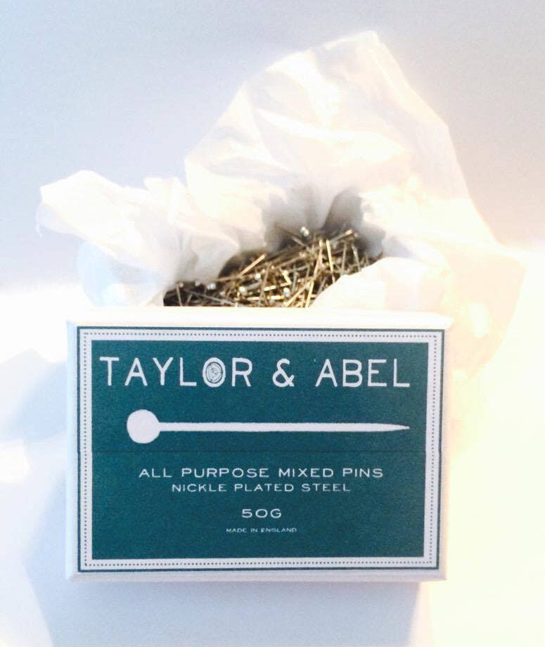 Taylor and Abel All Purpose Mixed Pins