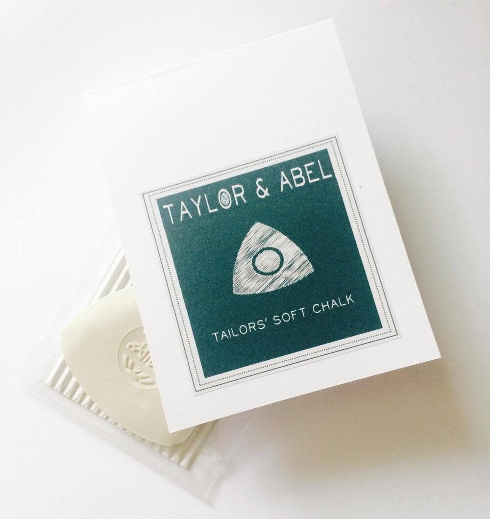 T & A white tailors chalk