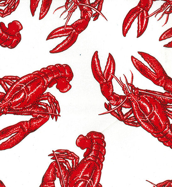 John Louden Lobster Printed cotton