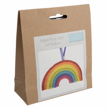 Load image into Gallery viewer, Felt Decoration Kit: Rainbow