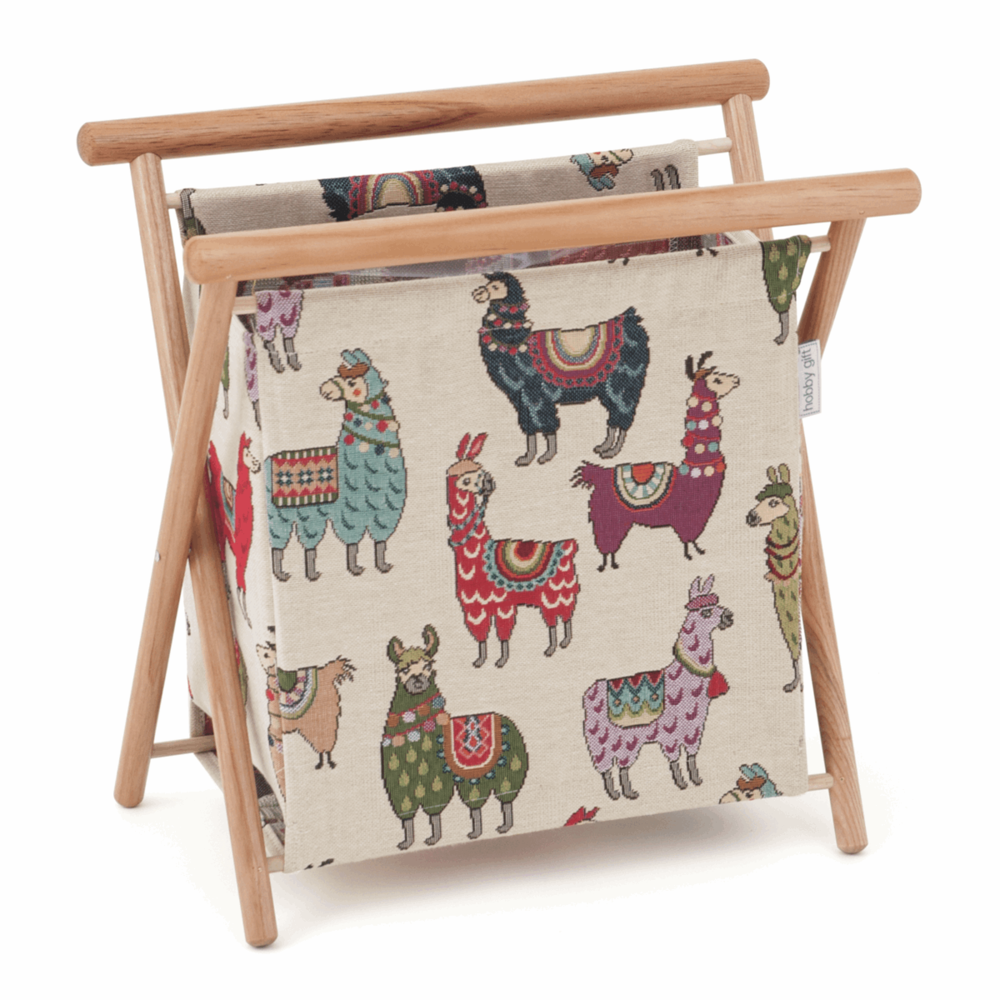 Knit Frame Knitting - Jacquard Llama Yarn Storage