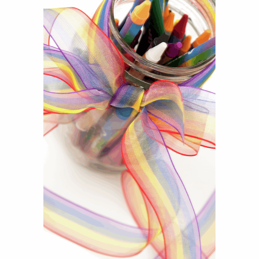 Rainbow Sheer Ribbon