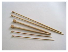 Load image into Gallery viewer, Lesur Bamboo Knitting Needles