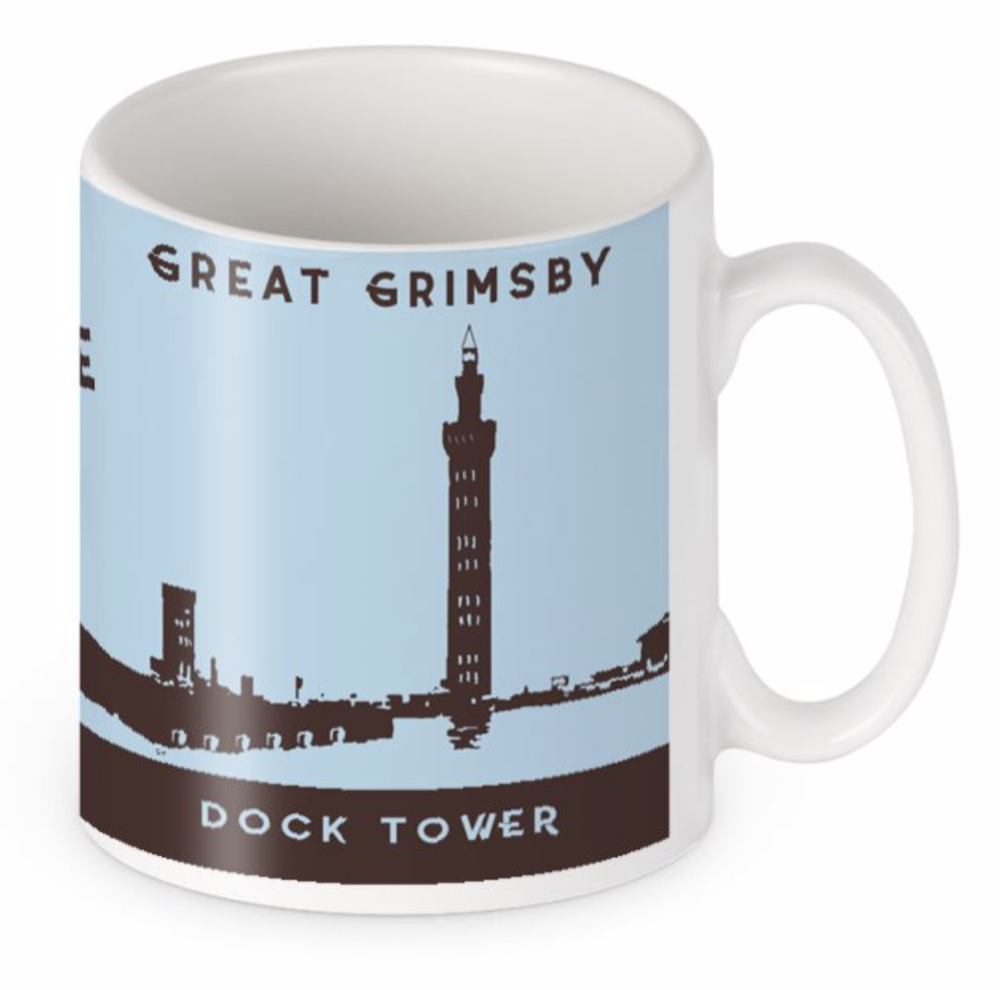 Original BYGO Art Dock Tower Edition Mug
