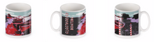 Load image into Gallery viewer, Original BYGO Art Red Cleethorpes Boating Mug