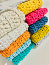 Load image into Gallery viewer, Handmade Reusable Washcloths