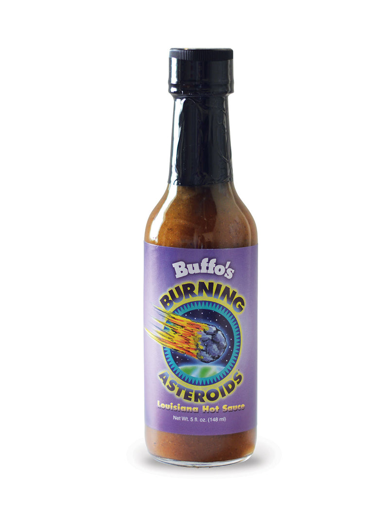 Buffo's Burning Asteroids Louisiana Hot Sauce