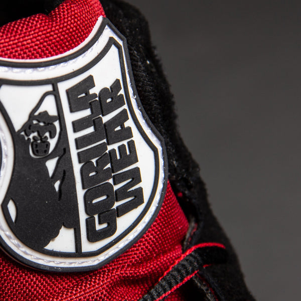Perry High Tops Pro - Rot/Schwarz