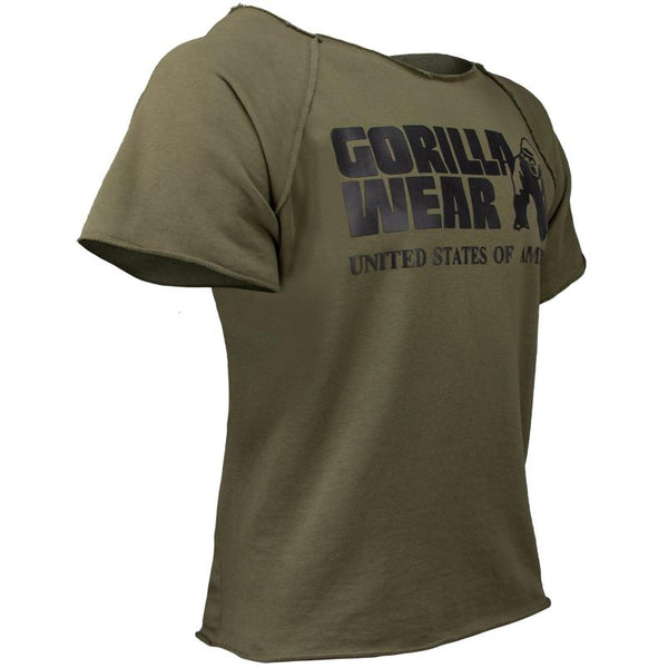 Classic Work Out Top - Armee Grün