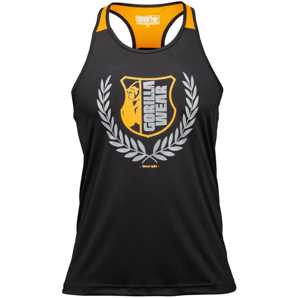 Lexington Tank Top - Schwarz/Neon Orange