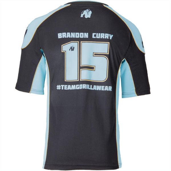 Athlete Shirt 2.0 Brandon Curry - Schwarz / Hellblau