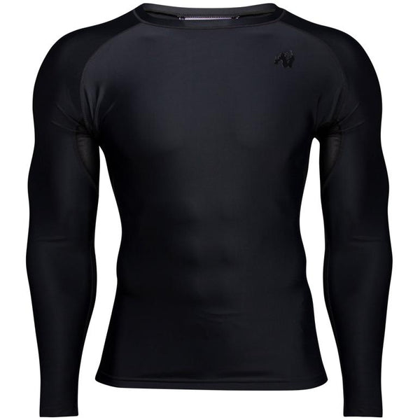 Hayden Compression Long Sleeve - Schwarz/Schwarz