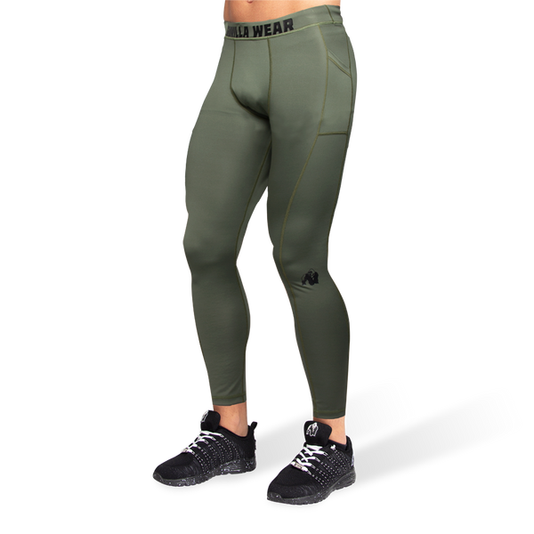 Smart Tights - Armee Grün