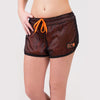 Madison Reversible Shorts - Schwarz/Neon Orange