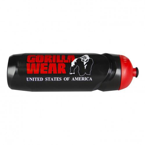 Sports Bottle - Schwarz/Rot 750ML