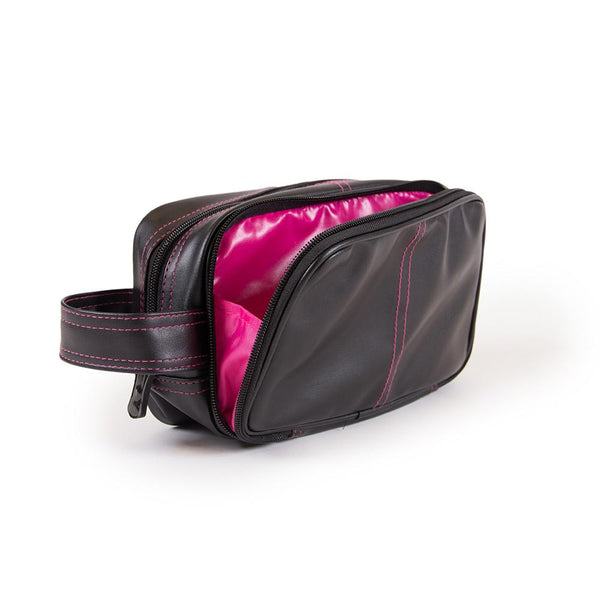 Toiletry Bag - Schwarz/Pink
