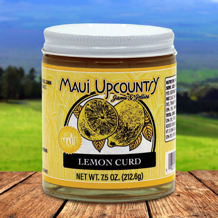 Maui Upcountry Jams & Jellies Lemon Curd