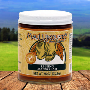Maui Upcountry Jams & Jellies Li-Hing Mango Jam