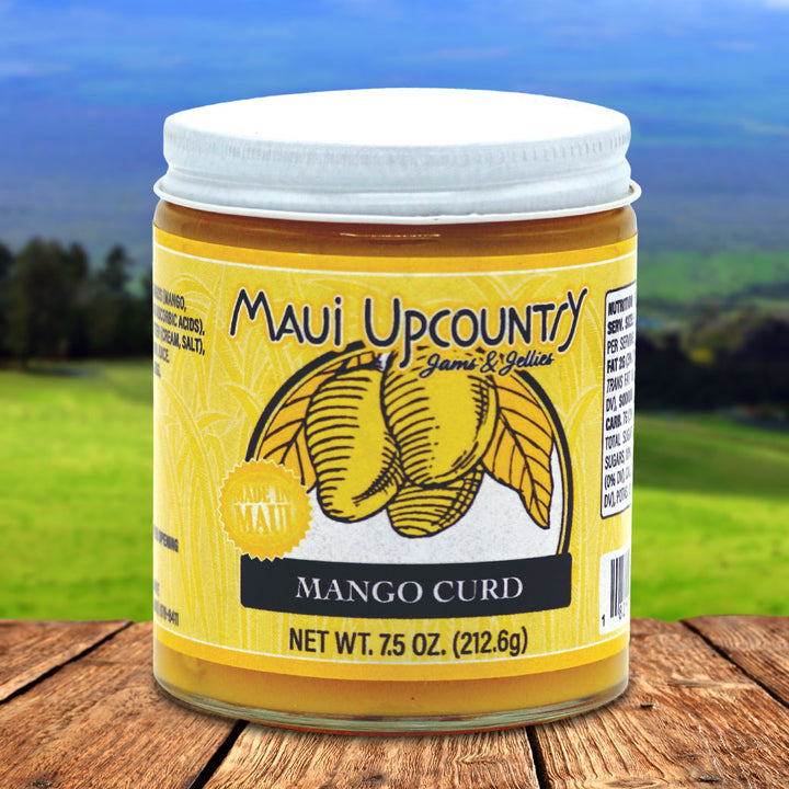 Maui Upcountry Jams & Jellies Lilikoi Curd