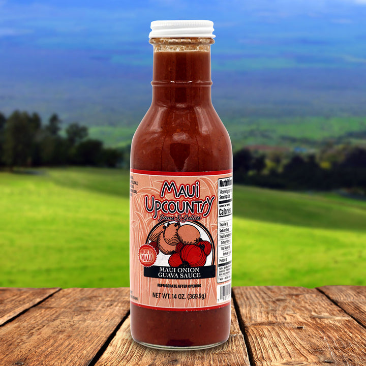 Maui Upcountry Jams & Jellies Maui Onion Guava Sauce