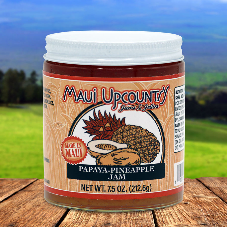 Maui Upcountry Jams & Jellies Papaya-Pineapple Jam