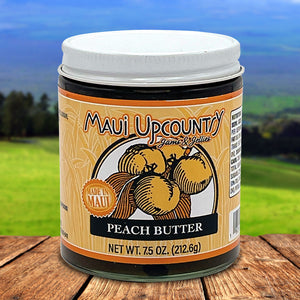Maui Upcountry Jams & Jellies Peach Butter