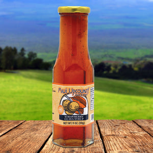 Maui Upcountry Jams & Jellies Strawberry Guava Syrup