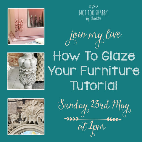 How To Glaze Your Furniture Tutorial