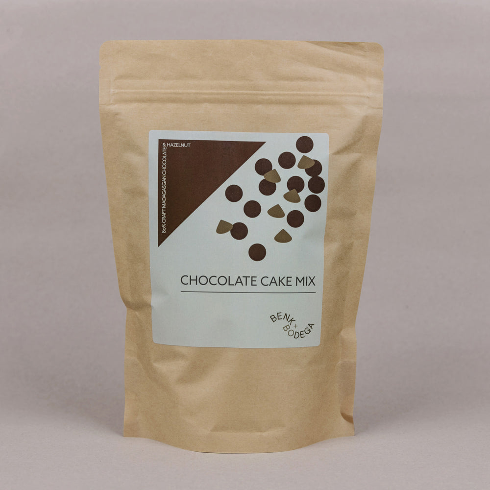 80% Madagascan Chocolate + Hazelnut Cake Mix