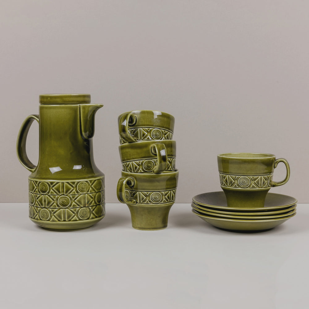 'Zorba' Coffee Set by Beswick