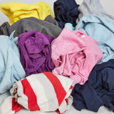 Coloured T-shirt Polishing & Cleaning Cloths