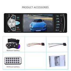 Car Radio Stereo USB AUX FM With Remote Control
