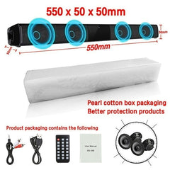 Home theater HIFI Portable Wireless Bluetooth Speakers column