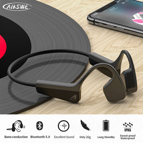 Bone Conduction Headphones Bluetooth wireless