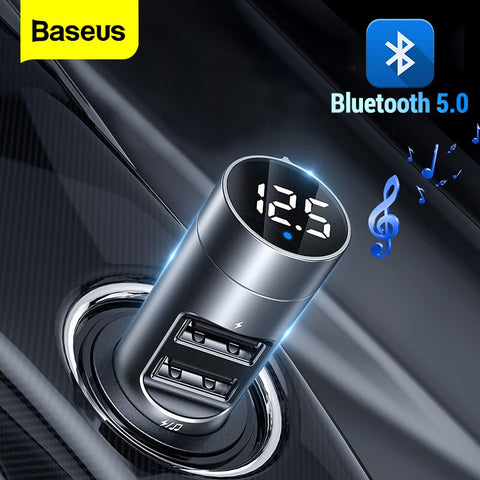 Car Wireless Bluetooth 5.0 FM Radio Modulator