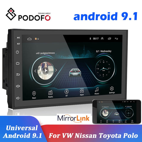 GPS Android Multimedia Player Universal 7""