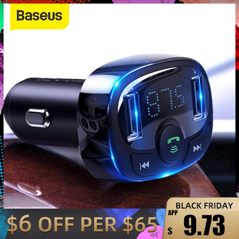 FM Transmitter Handsfree Bluetooth Car Kit MP3