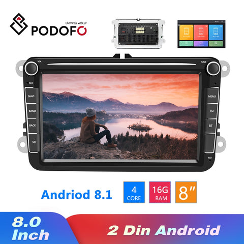 Android 8.1 Car Radios GPS Multimedia Player