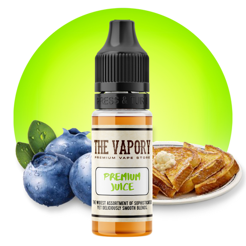 Blue French Toast Juice (E Liquid)