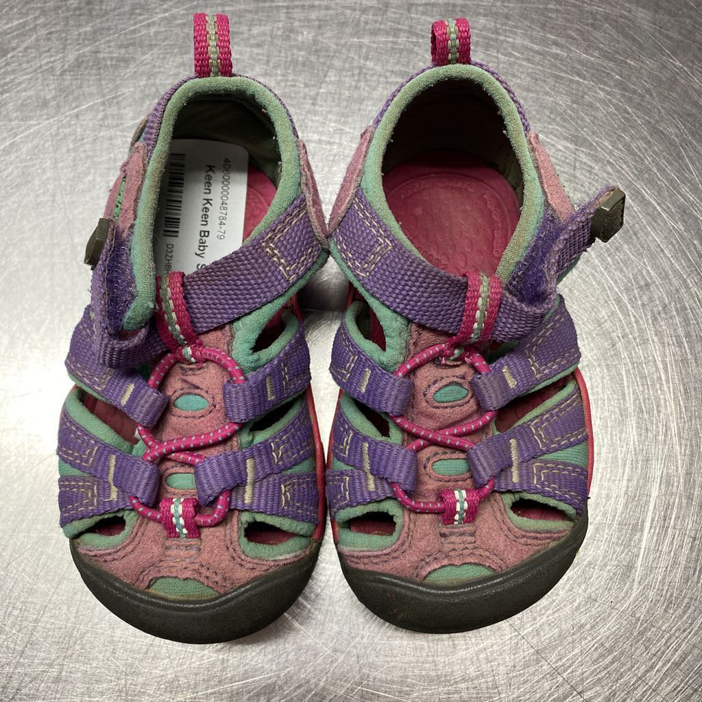 Keen Baby Sandals Size 4