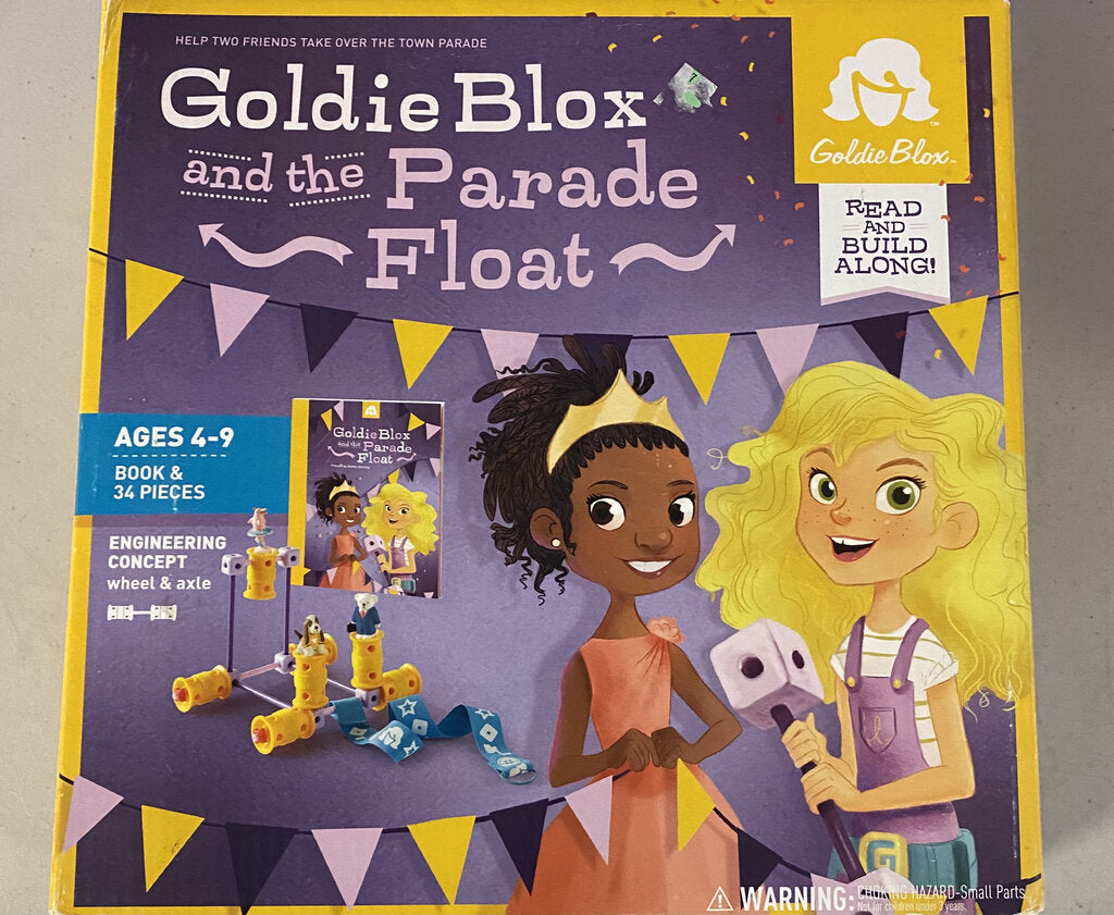 *GOLDIE BLOX AND THE PARADE FLOAT