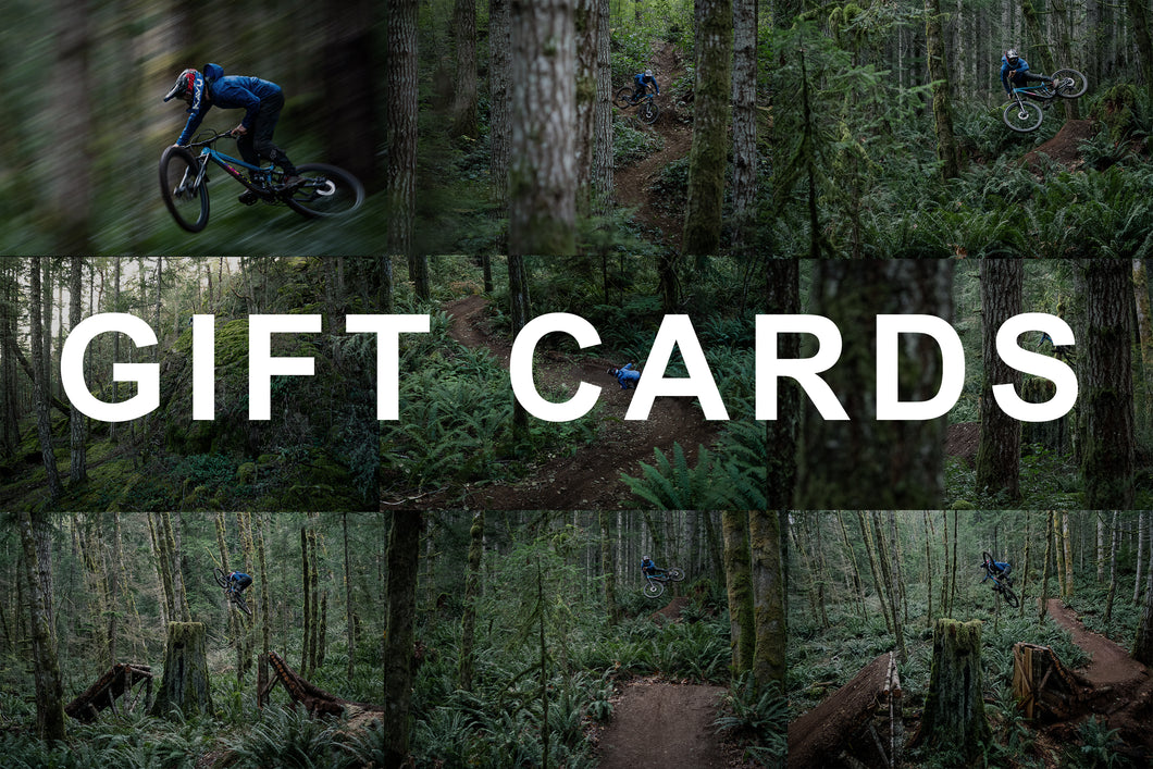 Mountain Bike Prints - Gift Card