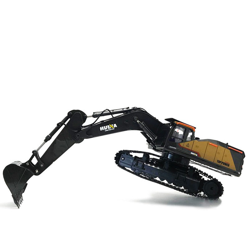RC Remote Control Huina 1592 Excavator Arms Stretching
