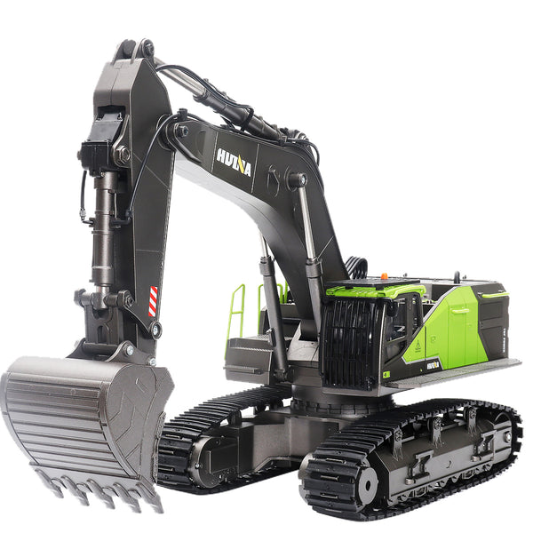 Radio Control Huina 1583 Excavator White background
