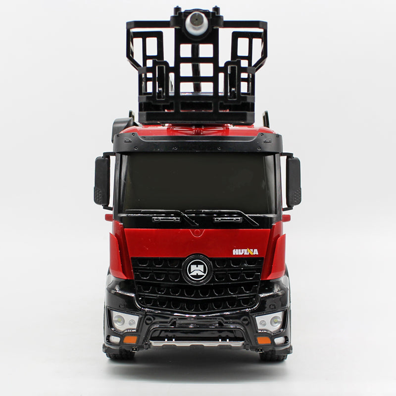 Front view of the firetruck toy