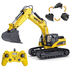 Huina 1580 1:14 All Metal Remote Control Excavator V4 (2021)
