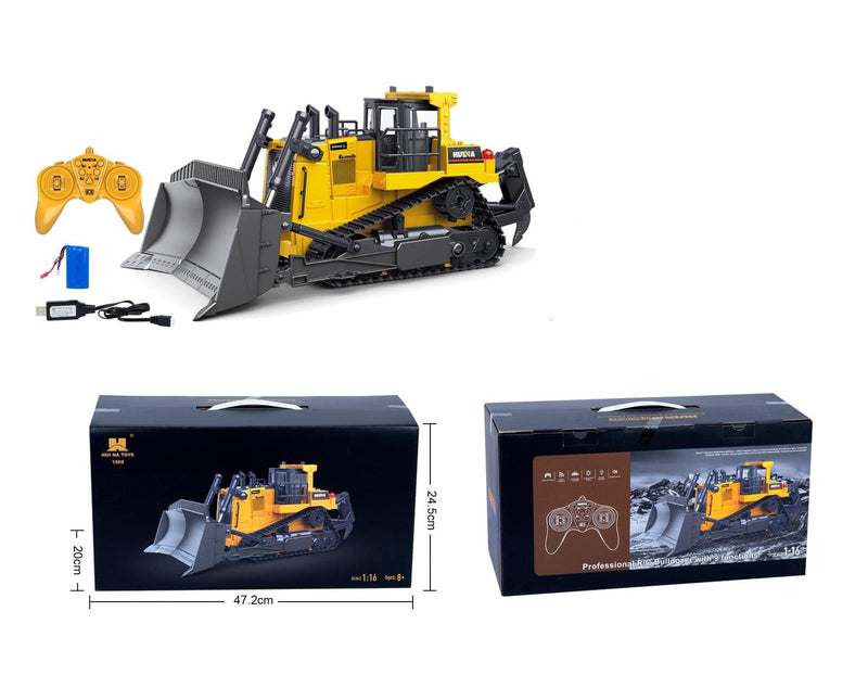 Huina New Bulldozer with remote and box