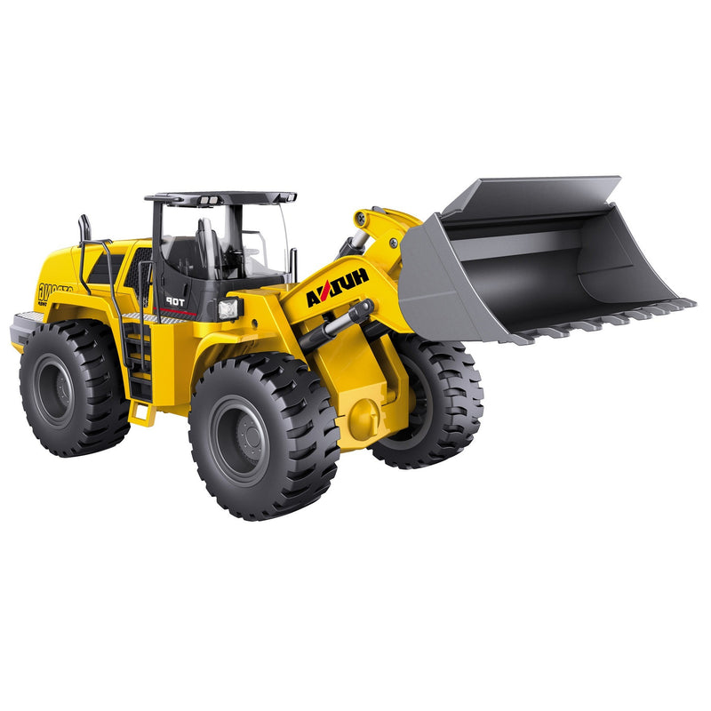 Huina 1583 Wheel loader side view white background