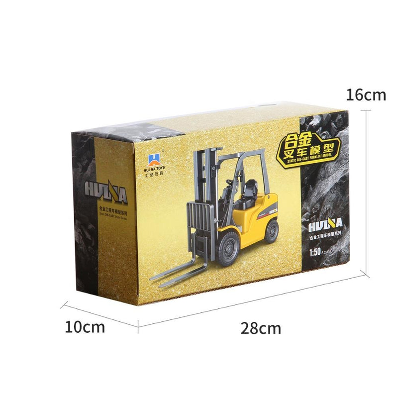 Huina 1717 1:50 Alloy Diecast Forklift in box