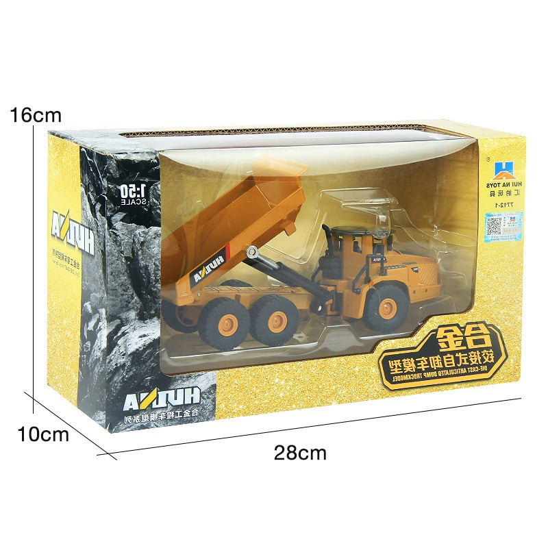 Huina 1712 Dump Truck In box